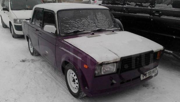 ВАЗ-2107.