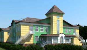 Проект детского сада в поселке Спутник.