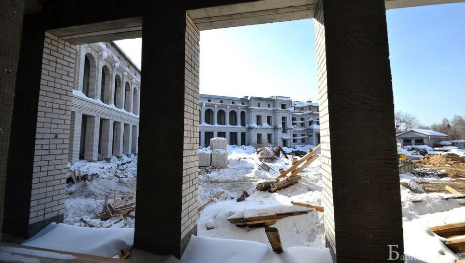 Как идет строительство художественного музея в Барнауле.