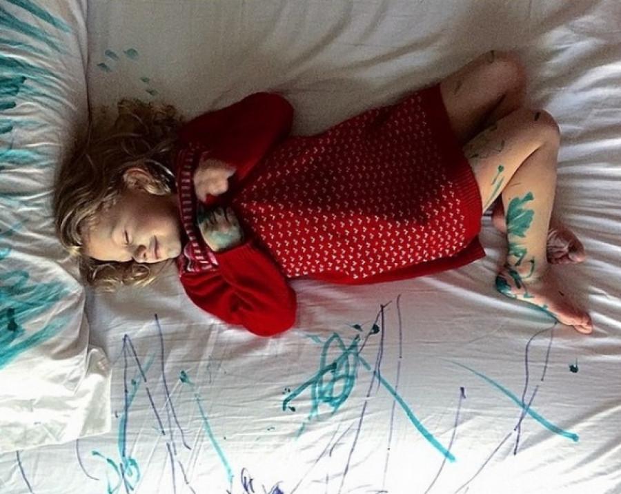 После вдохновения обычно сладко спится.