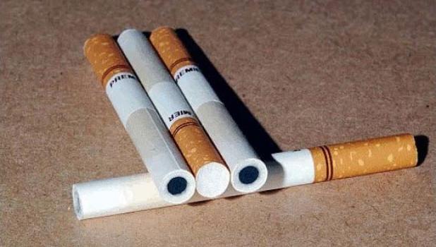 Бездымные сигареты.