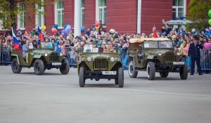 День Победы в Барнауле.