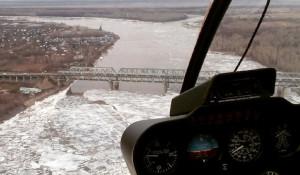 Ледоход в Барнауле: снимки из соцсетей.
