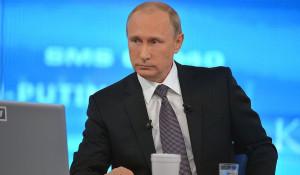 """""""Прямая линия"""" с Путиным. 16 апреля 2015 года."""