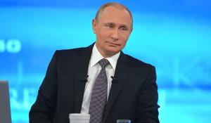 Прямая линия с Владимиром Путиным. 16 апреля 2015 года.