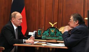 Тулеев у Путина.