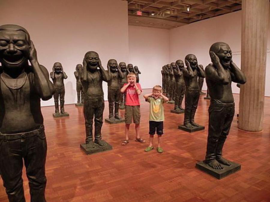 Как развлечься в музее.