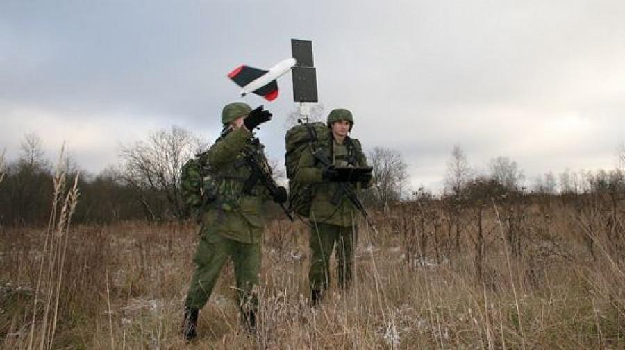 Военные с помощью беспилотников обследуют русла рек на Алтае