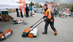 Строительная выставка в Барнауле. 28 апреля 2015 года.