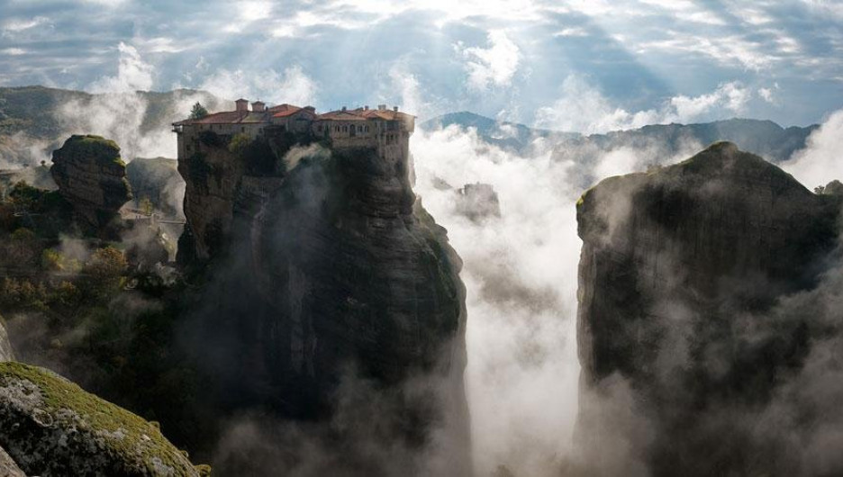 Метеоры, Греция.