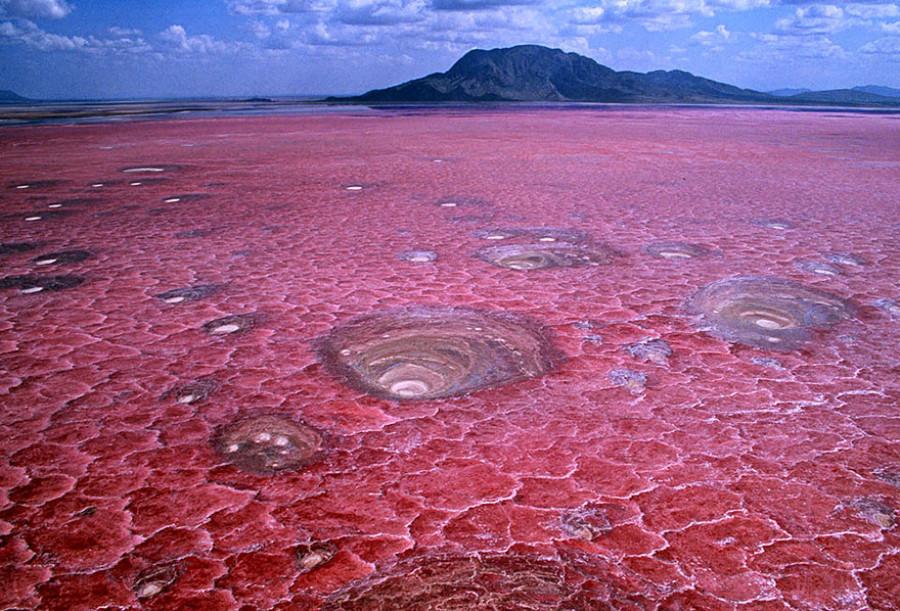 Озеро Натрон, Танзания