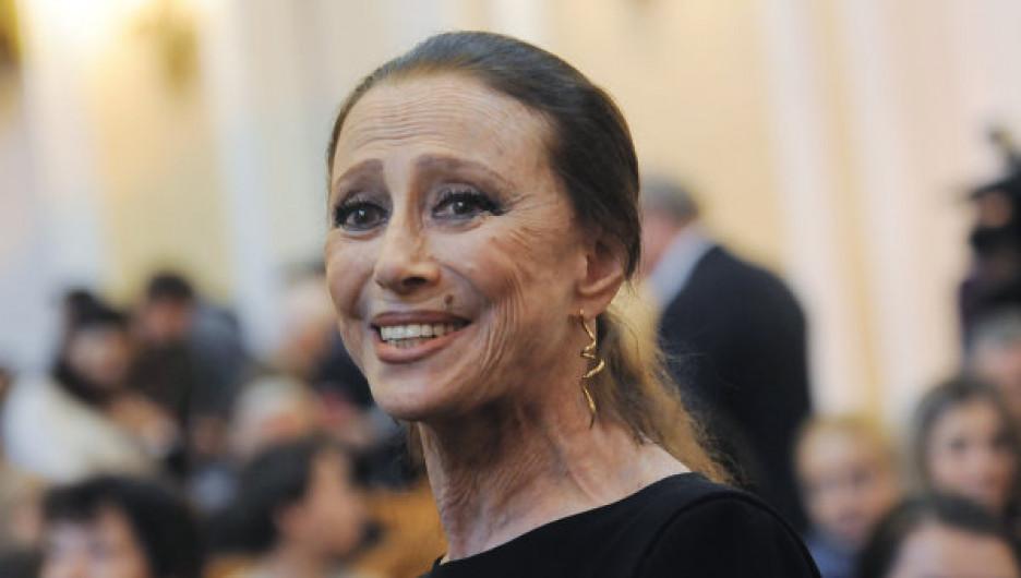 Майя Плисецкая.
