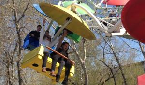 В Барнауле открылись парки. 1 мая 2015 года.