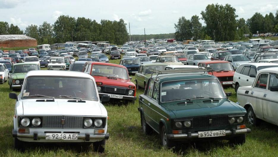 Автомобили в Алтайском крае