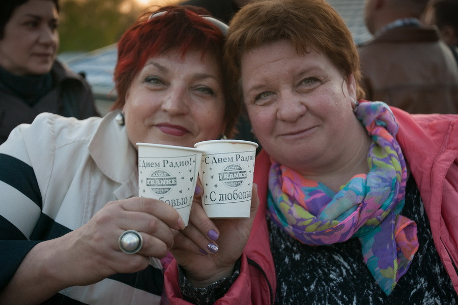 """День радио на """"Серебряном Дожде"""". Барнаул, 7 мая 2015 года."""