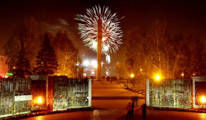 Салют в Барнауле.