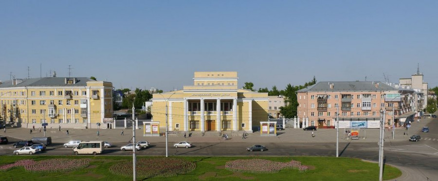 """В Барнауле предложили присвоить пр. Ленина статус """"достопримечательного места""""."""