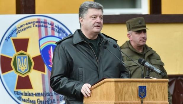 """Порошенко заявил, что создал новый """"спецназ"""" против России"""