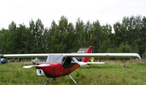 Легкомоторный самолет СКС-1-01.