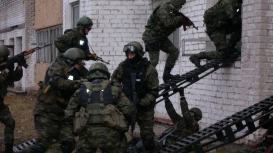 Антитеррористические учения в Славгороде.