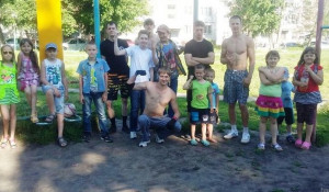 Мастер-класс по воркауту в Барнауле.