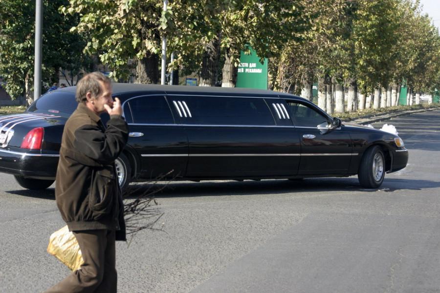 Лимузин в Барнауле.
