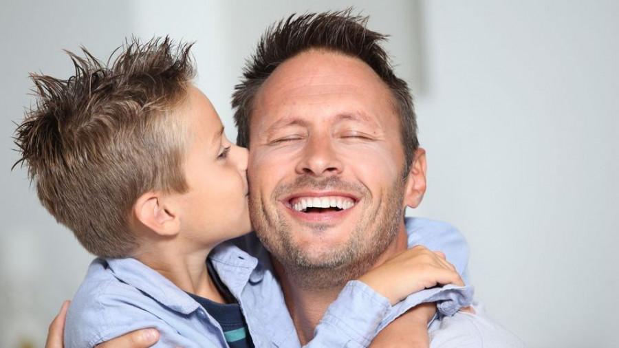 Отец и сын.