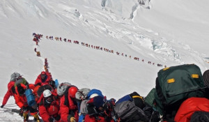 Восхождение на Эверест, май 2013 г.