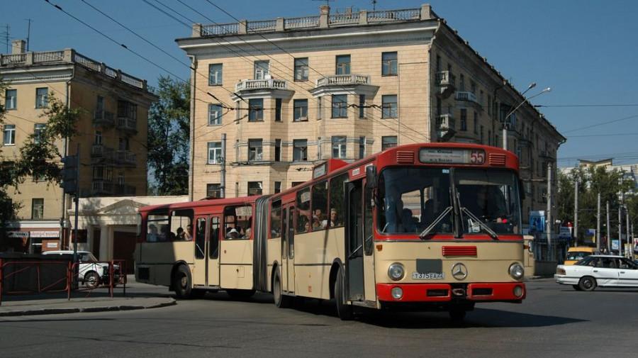 Автобус в Барнауле