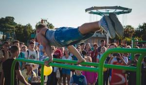 В Барнауле прошел фестиваль экстремальных видов спорта.