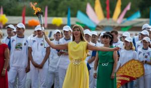 В Павловске открыли Олимпиаду сельских спортсменов Алтая.