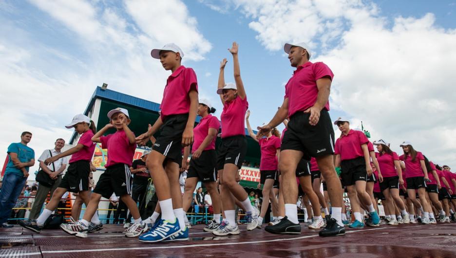 Олимпиада сельских спортсменов в Павловске.