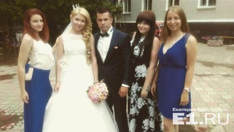 Фотофакты. Известная российская биатлонистка вышла замуж за барнаульца.