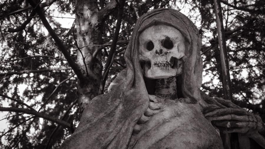 Скелет. Смерть.