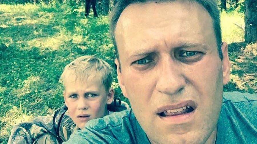 Алексей Навальный отдыхает на Алтае.