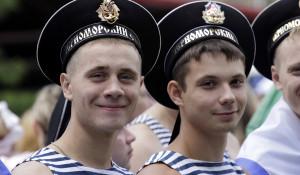 День ВМФ в Барнауле. 26 июля 2015 года.