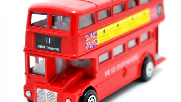 Двухэтажный автобус, Англия.