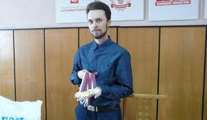 Сергей Каменский на брифинге.