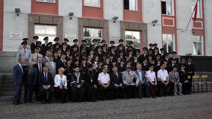 Тожественный выпускной курсантов БЮИ. 30 июля 2015 года.