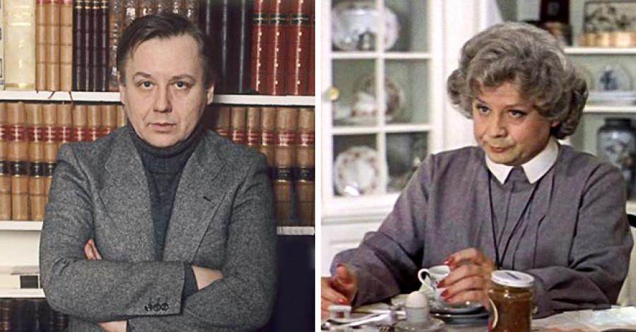 """Олег Табаков — Мисс Эндрю. """"Мэри Поппинс, до свидания!""""."""