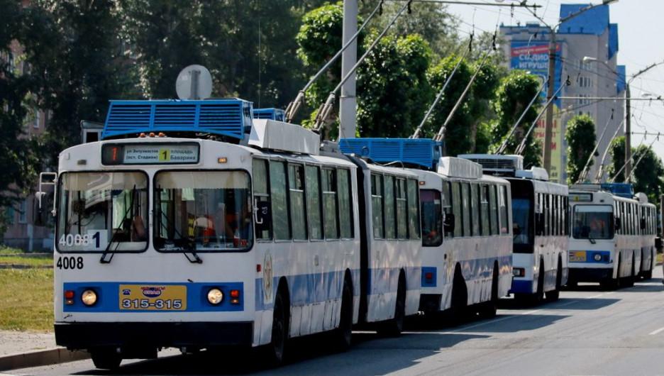 Троллейбус.