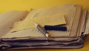Документы, бумаги.