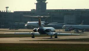Самолеты в аэропорту Домодедово.