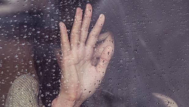 Плачущая женщина.