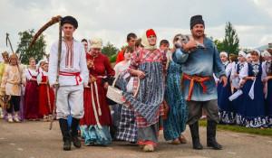Празднование юбилея Усть-Калманского района.