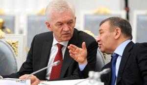Геннадий Тимченко и Аркадий Ротенберг.