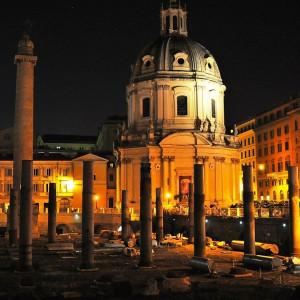 Древний Рим. Руины.