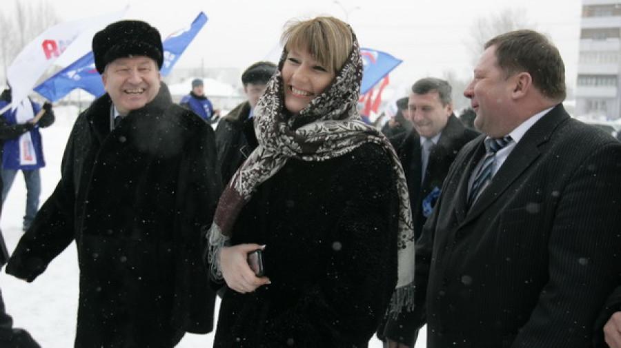 На открытие нового барнаульского спорткомплекса была приглашена вице-спикер Госдумы, олимпийская чемпионка Светлана Журова.