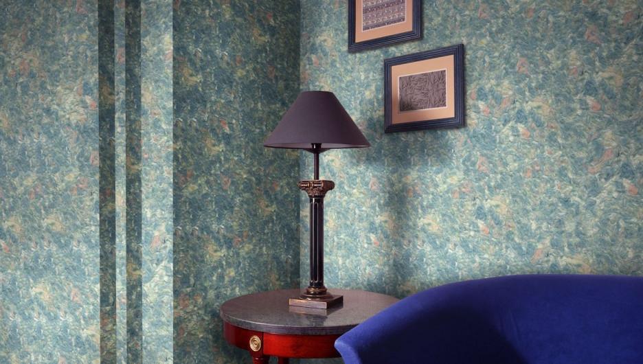 Квартира, с фантазией отделанная шелковой декоративной штукатуркой, будет выглядеть весьма оригинально.