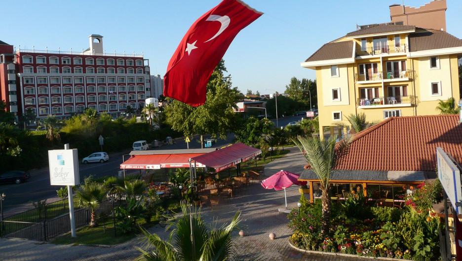 В Турции.